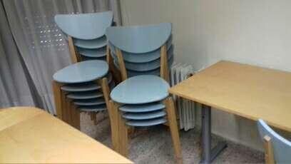 Imagen sillas y mesas