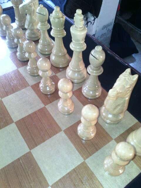 Imagen Mesa ajedrez