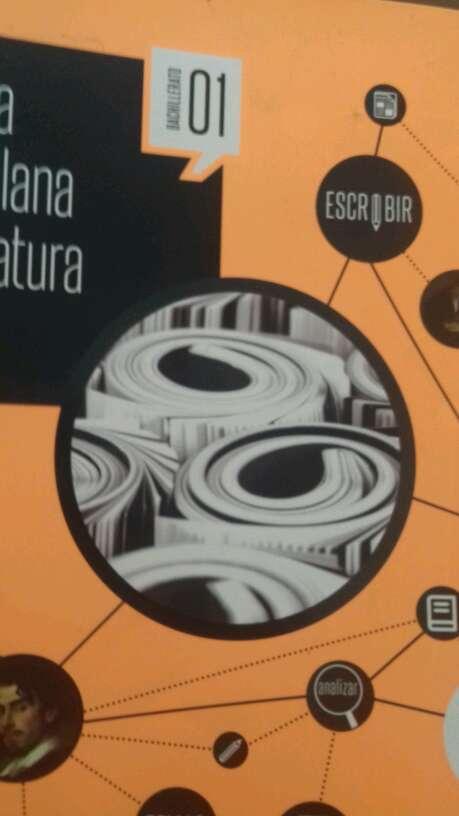Imagen lengua castellana  y literatura 1bachiller