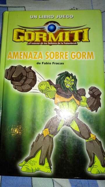 Imagen producto Libro gormiti 1