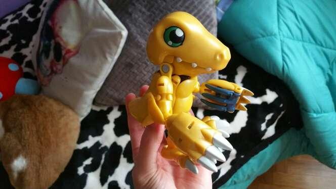 Imagen Digimon Agumon WarGraymon