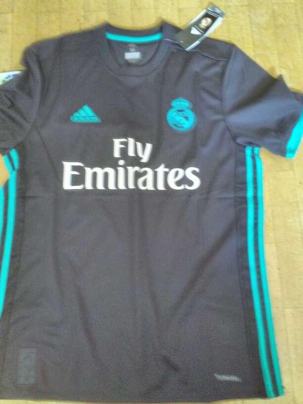 Imagen producto Camiseta Real Madrid Segunda Equipación temporada 2017-2018  1