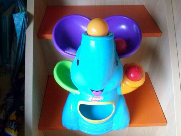 Imagen Elefante con bolas
