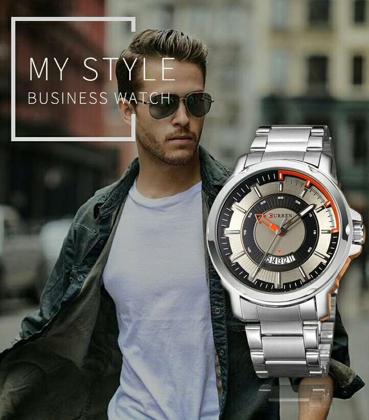 Imagen Reloj de caballero Curren