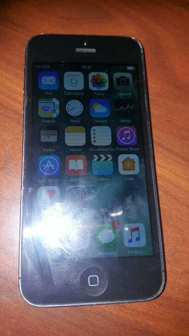 Imagen iphone5 se vende o se cambia por s7 edge mas algo de dinero