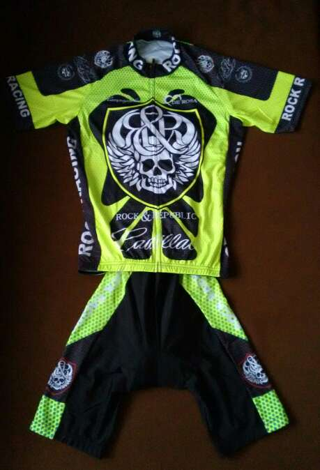 Imagen A estrenar maillot + cullote mod. Rock Racing