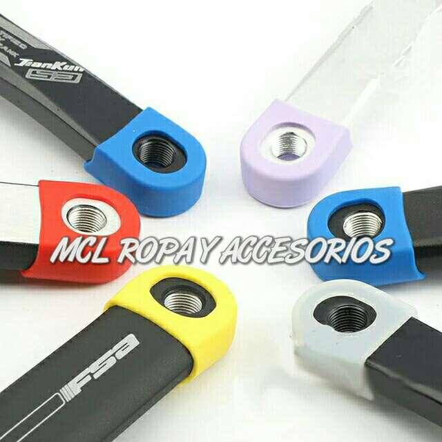 Imagen producto A estrenar protectores bielas pedales 2