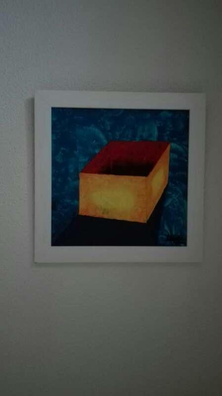 Imagen cuadro caja amarilla