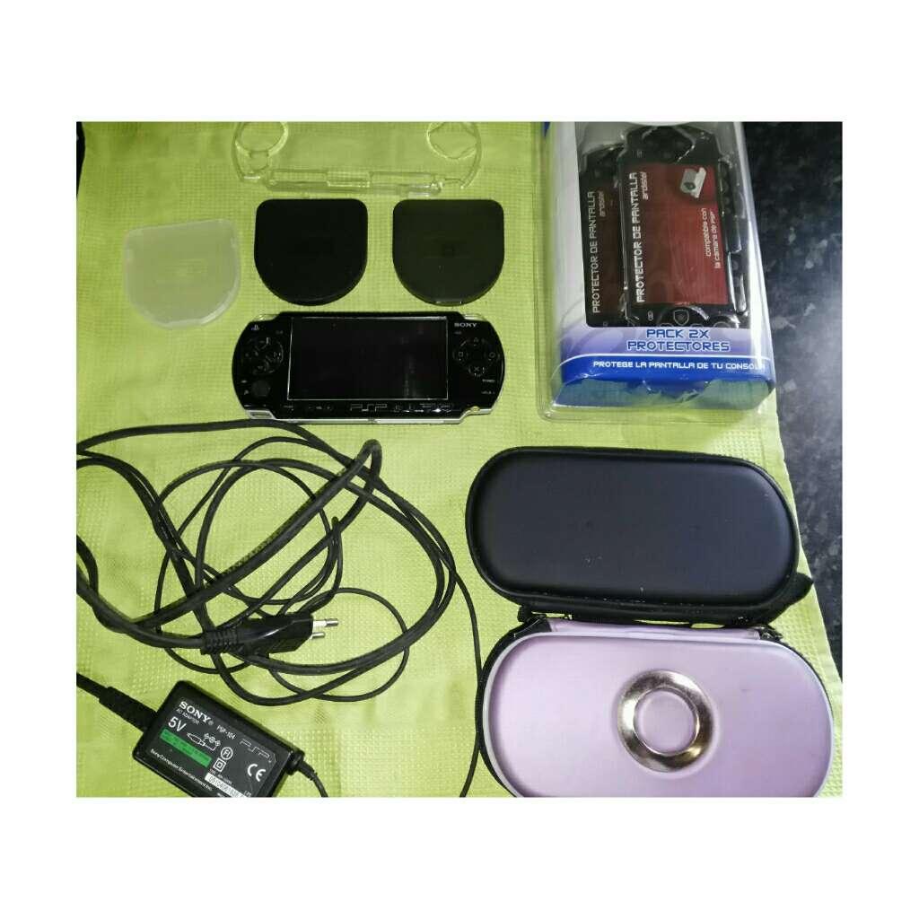 Imagen PSP y accesorios