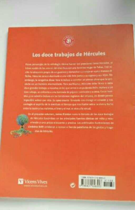 Imagen producto Libro Los Doce Trabajos de Hércules 2