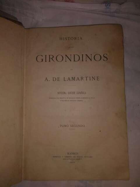 Imagen producto Tres libros,trilogia,los girondinos. 2