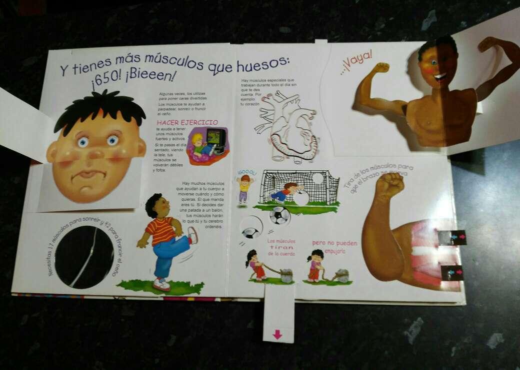 Imagen producto Libro del cuerpo humano en 3D 2