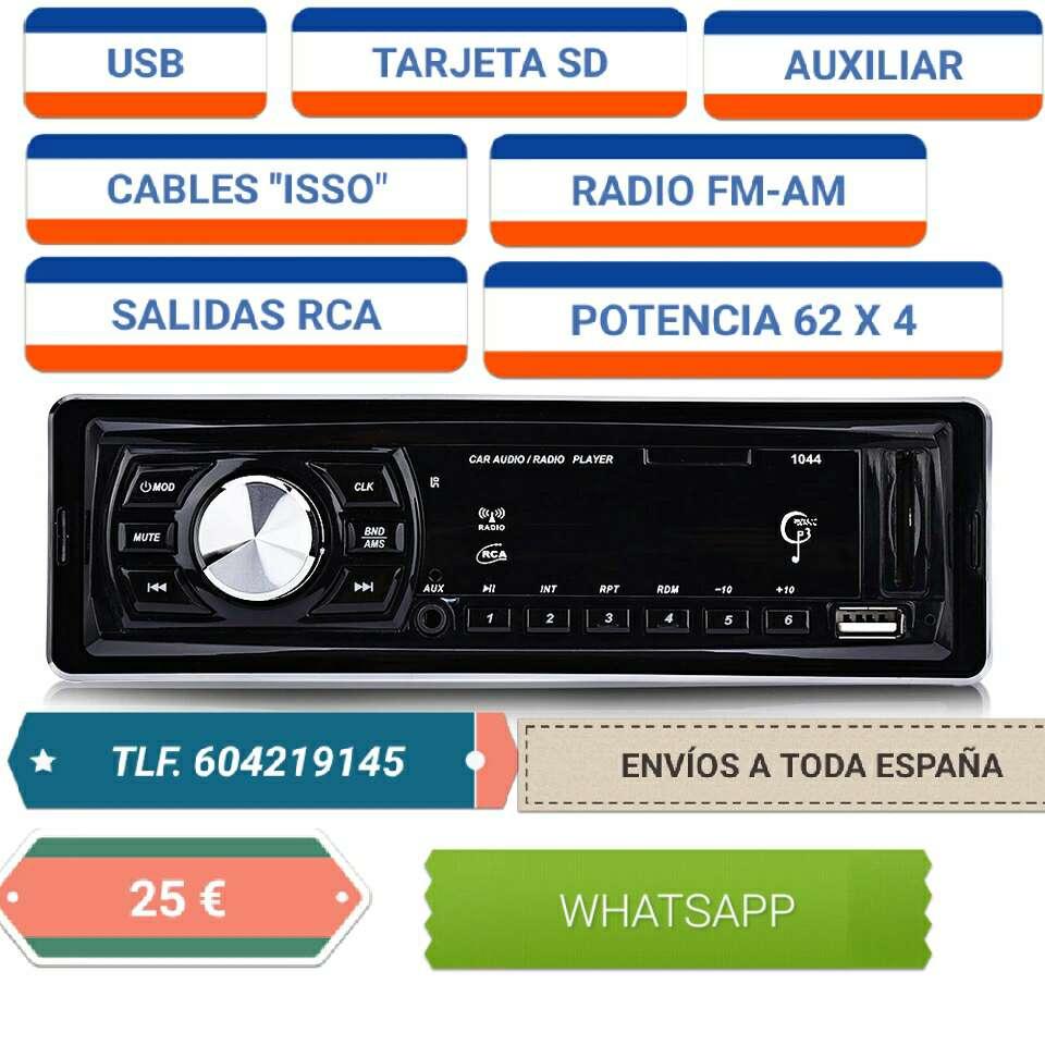 Imagen radio coche nuevo con usb