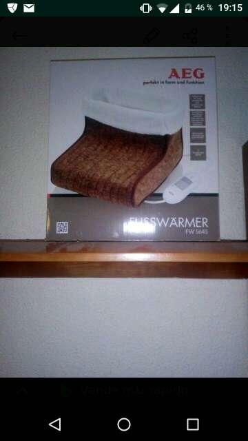 Imagen calentador de pies