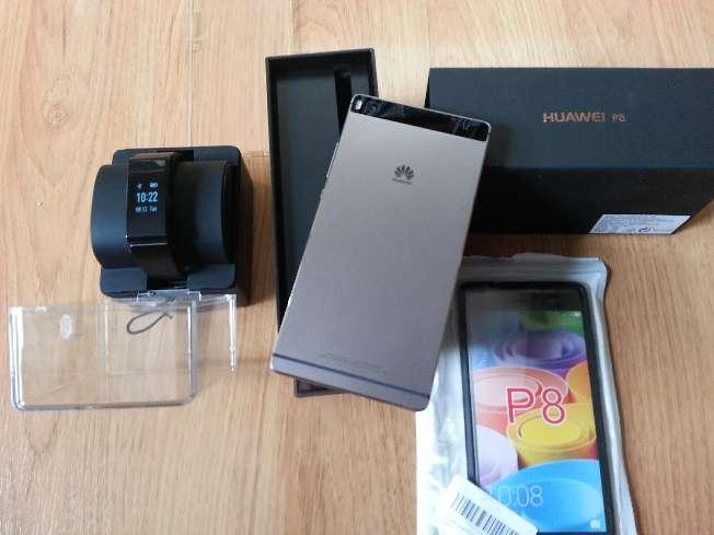 Imagen producto Vendo Huawei p8 + banda cuantificadora con parrot bluetooth Huawei Talkband 2. 2