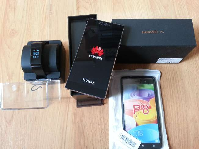 Imagen producto Vendo Huawei p8 + banda cuantificadora con parrot bluetooth Huawei Talkband 2. 1