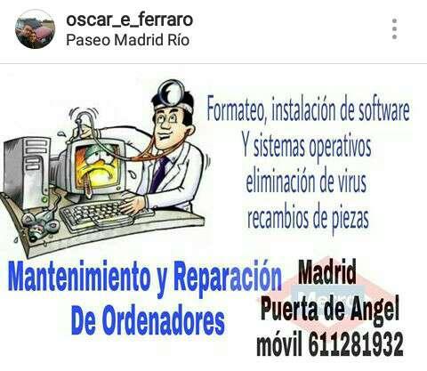 Imagen Mantenimiento y Reparación ordenadores