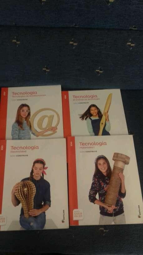 Imagen Libros tecnología 1 ESO