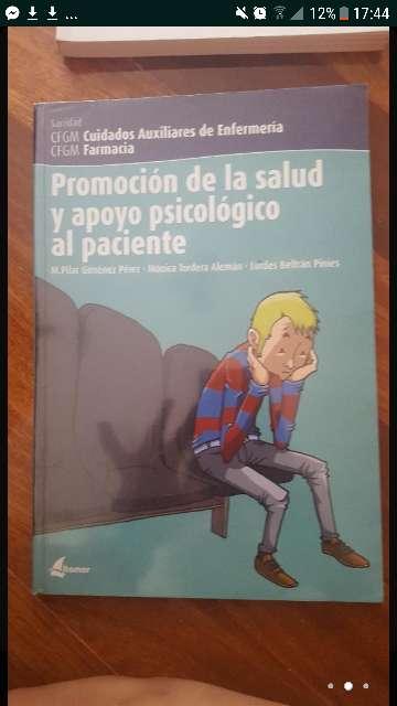 Imagen promoción de la salud y apoyo psicológico al paciente