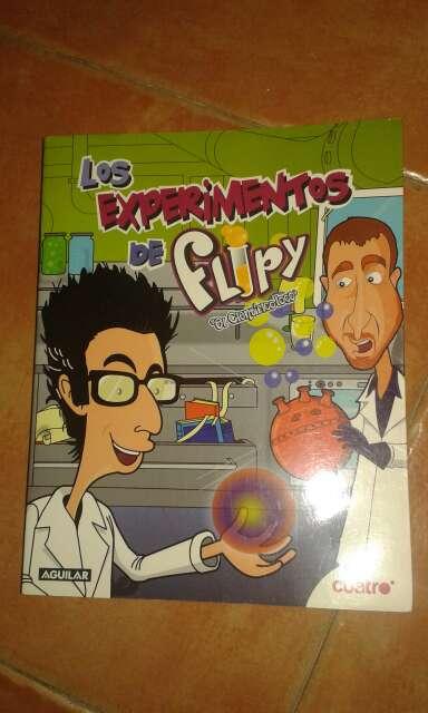 Imagen Libro Experimentos de Flipy
