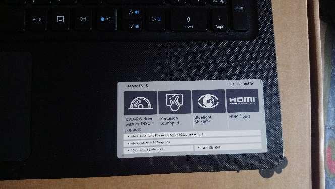Imagen producto Acer Aspire ES15 3