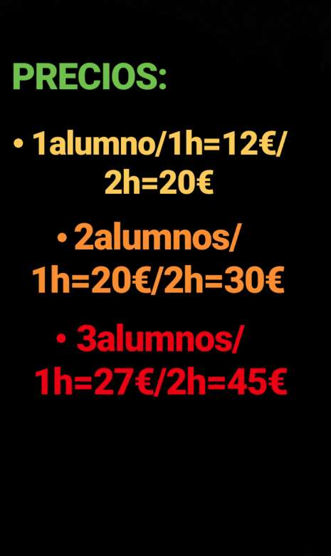Imagen producto Clases particulares 2