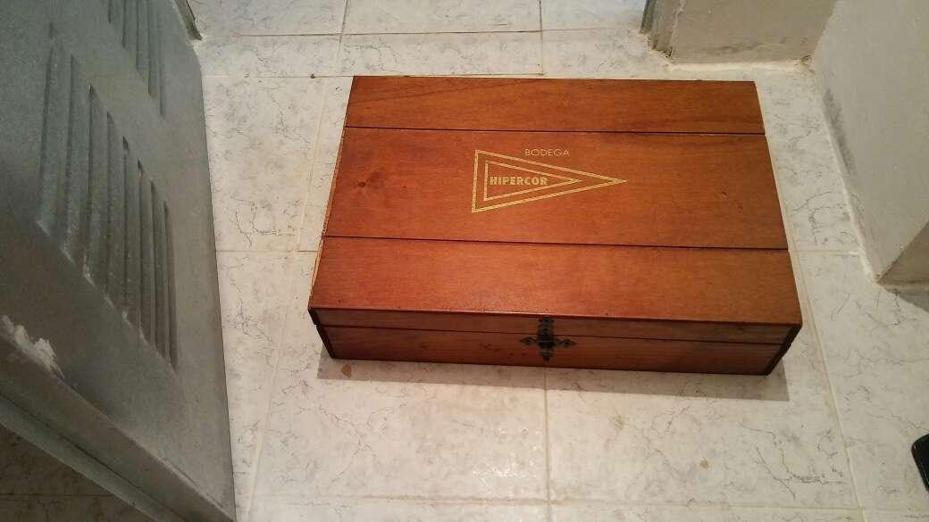 Imagen producto Caja botellero de madera 1