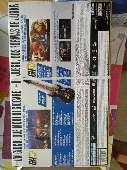 Imagen producto Guitar Hero Live para PlayStation 3 4