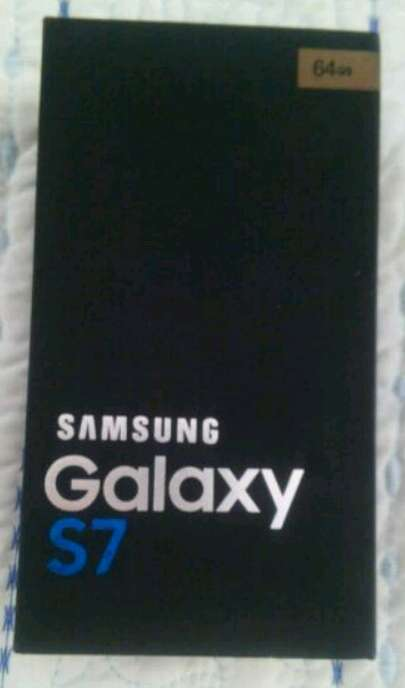 Imagen Samsung S7, intacto