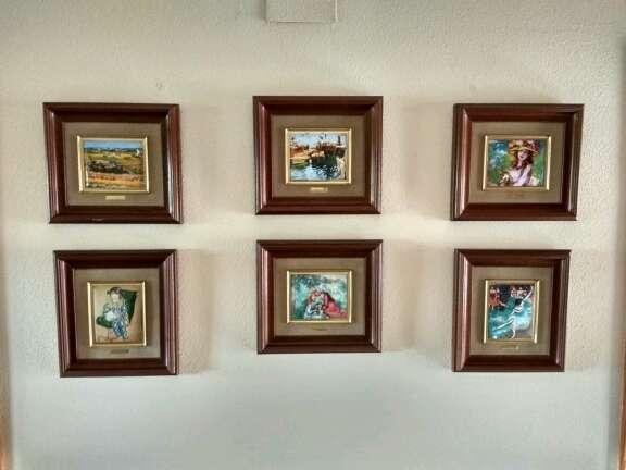 Imagen Colección de cuadros esmaltados de Galería del Coleccionista