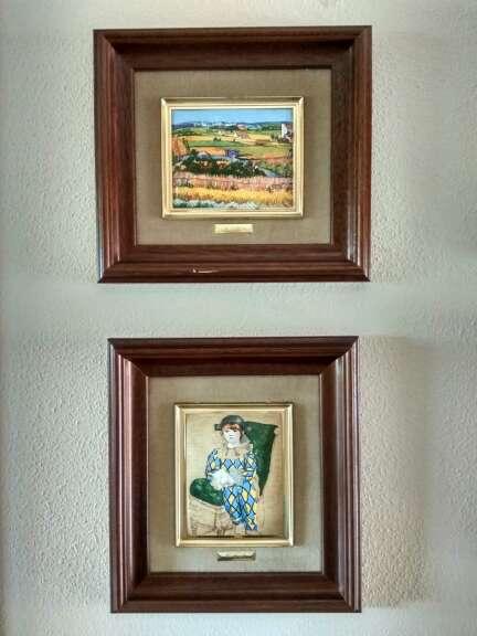 Imagen producto Colección de cuadros esmaltados de Galería del Coleccionista 2