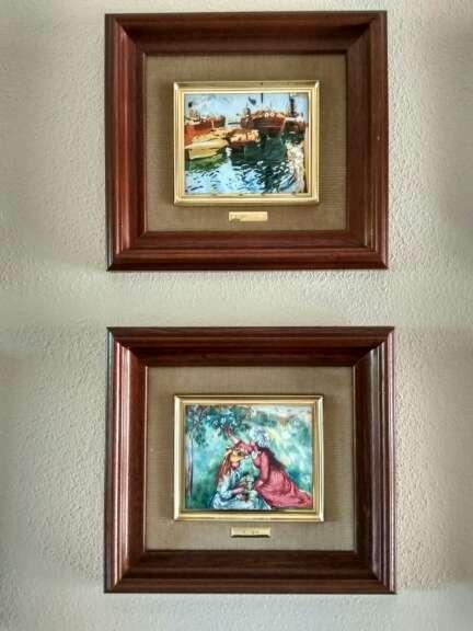 Imagen producto Colección de cuadros esmaltados de Galería del Coleccionista 3