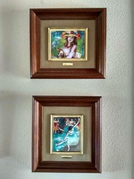 Imagen producto Colección de cuadros esmaltados de Galería del Coleccionista 4