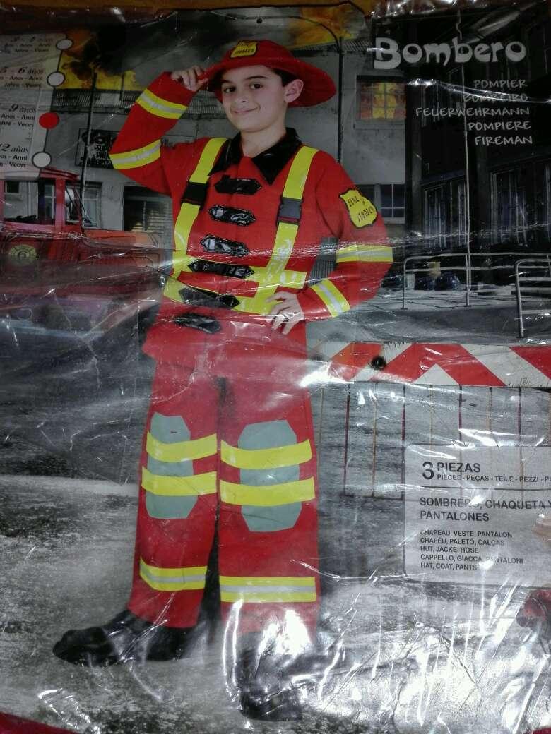 Imagen Disfraz niño bombero