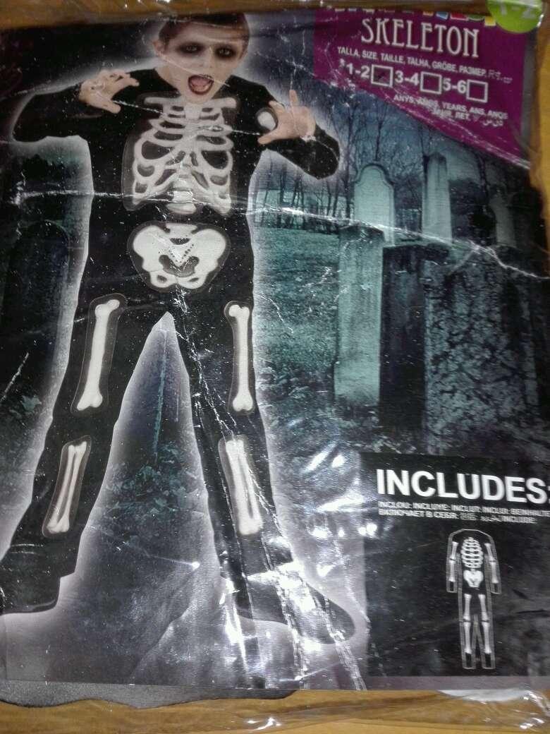 Imagen Disfraz esqueleto
