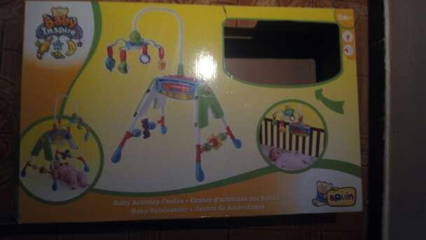 Imagen producto Centro actividades para bebe 4 en 1 2