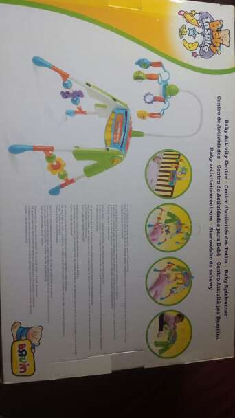 Imagen producto Centro actividades para bebe 4 en 1 3