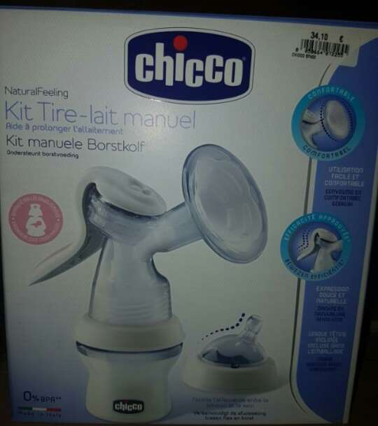 Imagen kit sacaleches Chicco