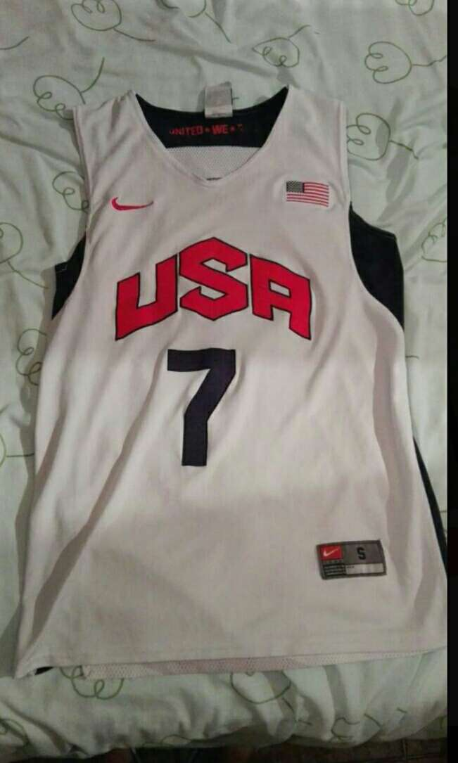 Imagen camiseta baloncesto USA WESTBROOK 7