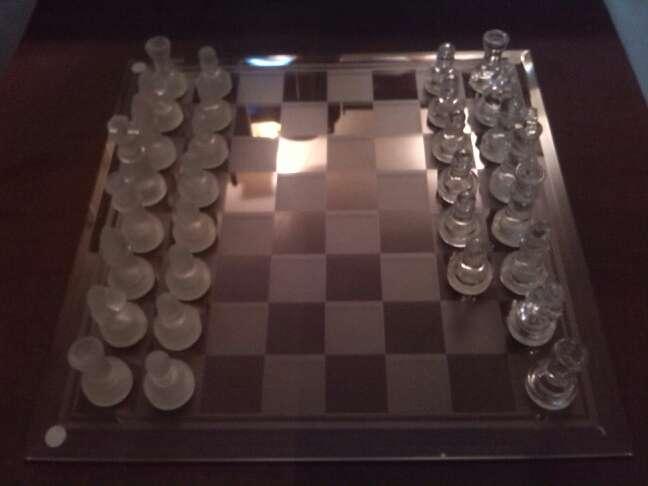 Imagen ajedrez de cristal