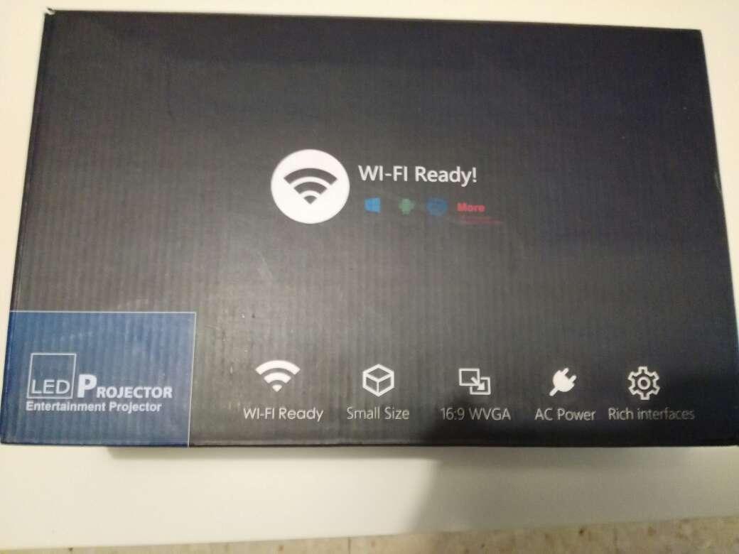 Imagen proyector led wifi