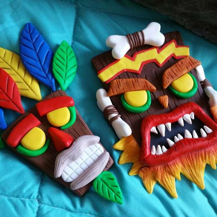 Imagen Máscaras Crash Bandicoot