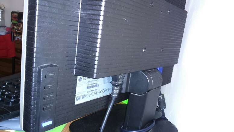 Imagen producto Monitor LG flatron L192WS  2