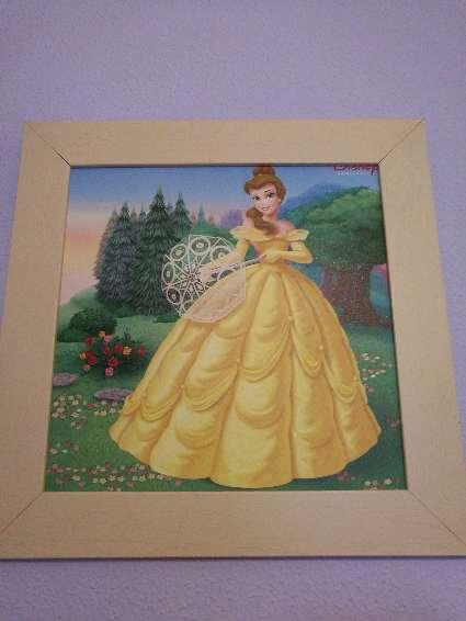 Imagen producto Cuadros princesas Disney. 1