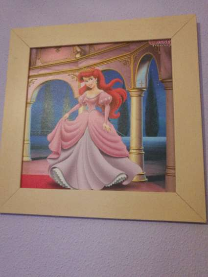 Imagen producto Cuadros princesas Disney. 2