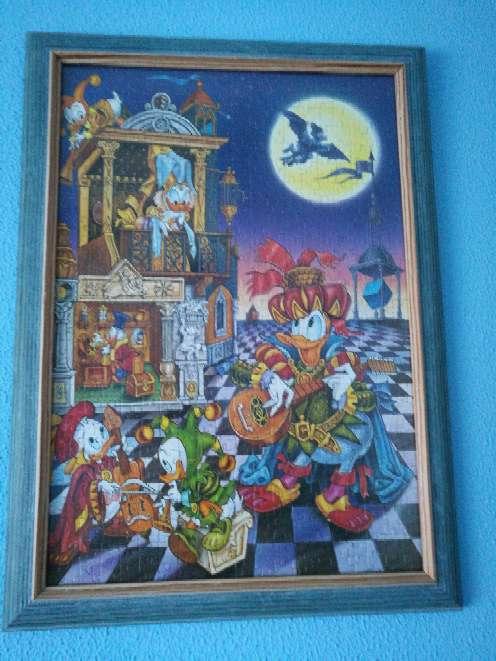 Imagen Cuadros-puzzle Disney.
