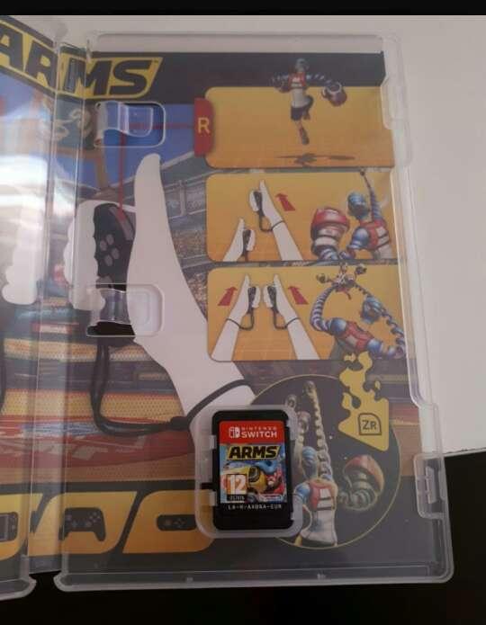 Imagen producto Arms para la switch 2