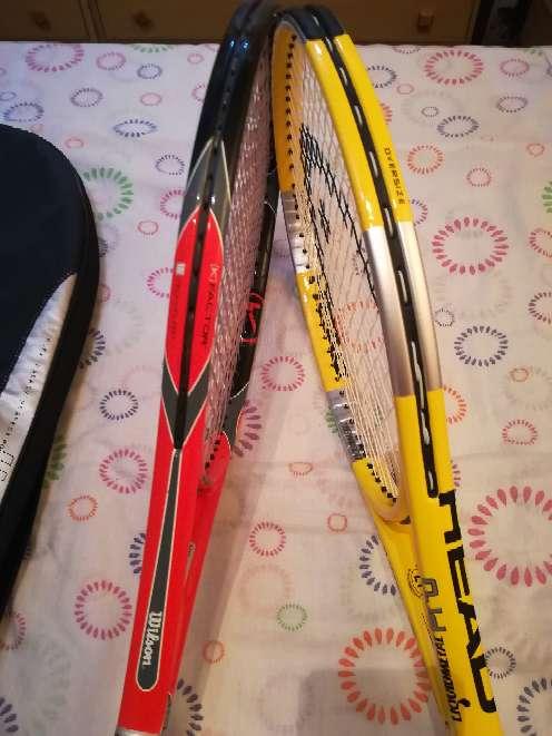 Imagen producto Raquetas de tenis 2