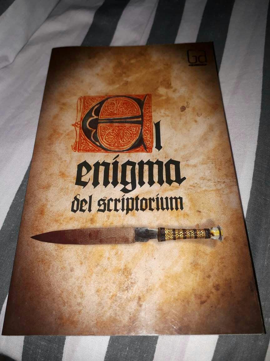 Imagen 'El enigma del scriptorium'
