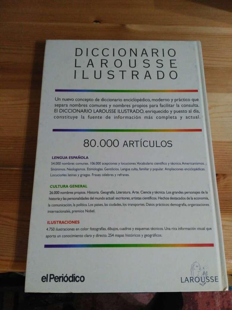 Imagen producto Diccionario Larousse ilustrado 3